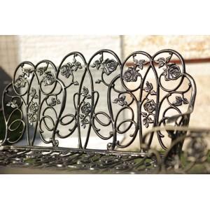 Karina alumínium kerti pad, arany-fekete