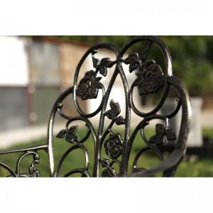 Karina alumínium kerti szék, arany-fekete