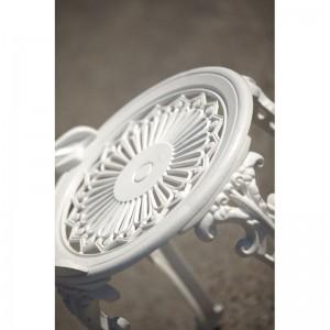 Meda aluminium kültéri szék, fehér