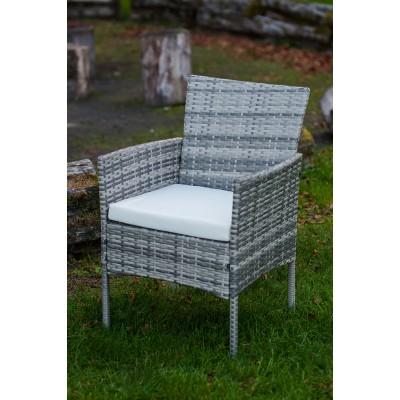 Trento rattan hatású kerti szék és asztal szett