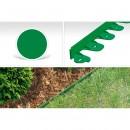 Hajlítható műanyag kerti szegély, 60 cm